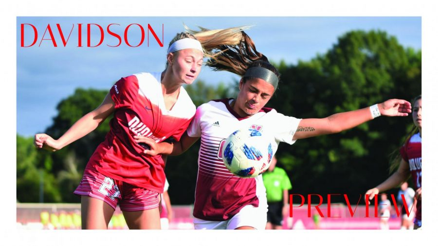 UMass women's soccer aims to get back in the win column at Davidson Thursday