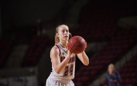 Through differing paths to captaincy, Hailey Leidel and Jessica George are prepared to lead UMass women's basketball in 2018-19