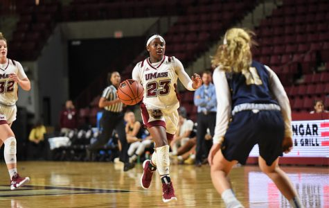 Hailey Leidel, Bre Hampton-Bey lift UMass past UTRGV