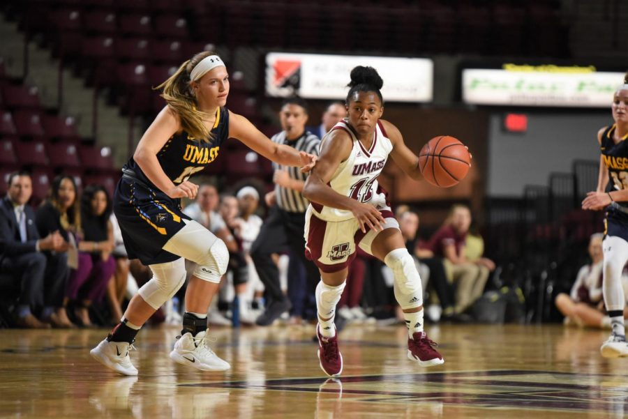 UMass women's basketball looking to get back on track against Central Connecticut