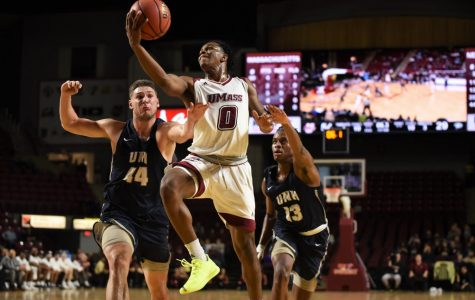 Tre Wood shines in second career game for UMass