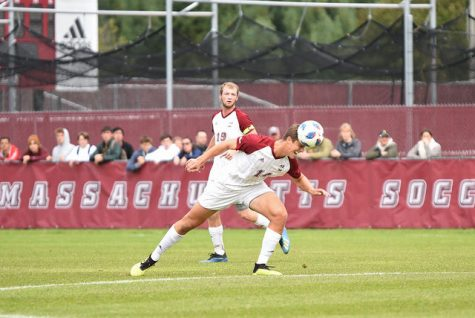 UMass men's soccer falls 2-0 vs. Colgate