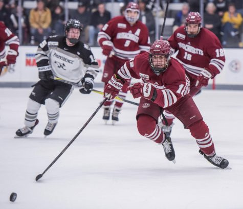 Hockey notebook: UMass helps raise over 500,000 gallons of freshwater while in Arizona
