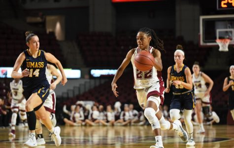 Minutewomen top Central Connecticut 74-59