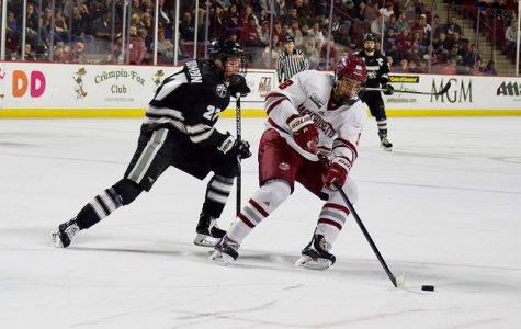 Ames: UMass hockey's compete on full display in win over Providence