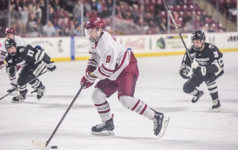 No. 9 UMass hockey outlasts No. 4 Providence Thursday