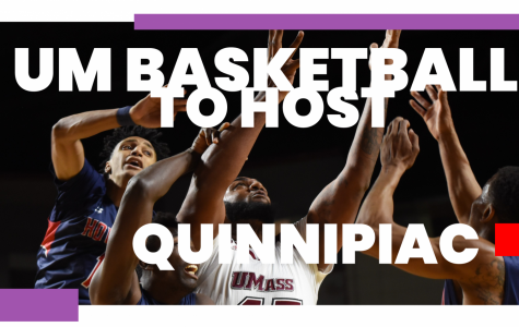 UMass men's basketball looks to keep up momentum against Quinnipiac