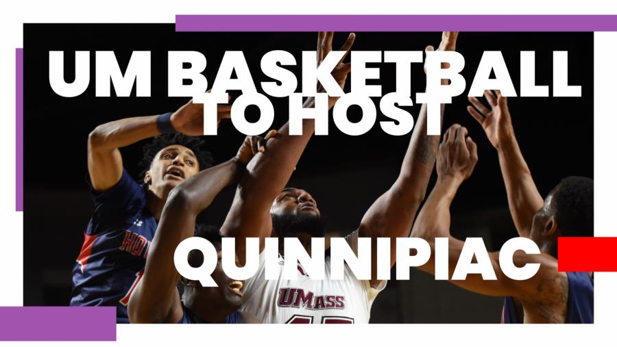 UMass men's basketball looks to keep up momentum against Quinnipiac