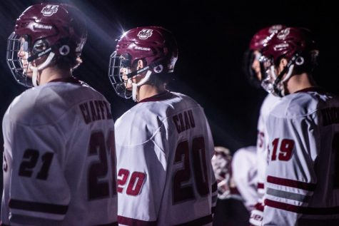 Hockey seniors to be honored Friday