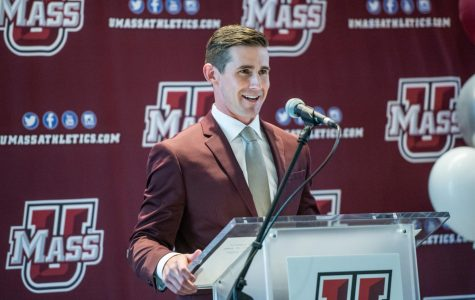 UMass football introduces Walt Bell as head coach