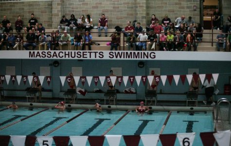 In his 40th year as head coach of UMass men's swimming, Russ Yarworth is still going strong