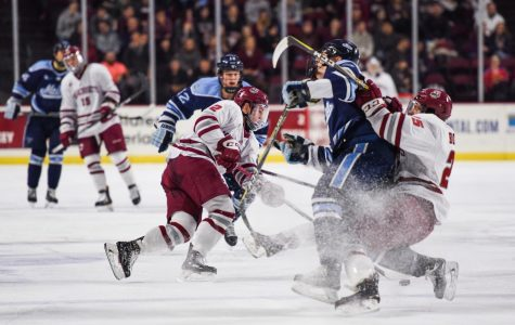 UMass focuses on crease battle in preparation for Maine