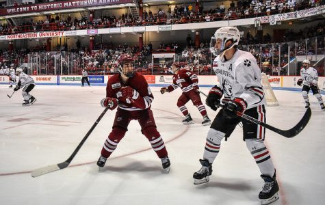 No. 1 UMass stunned by No. 8 Northeastern in 2-1 overtime thriller