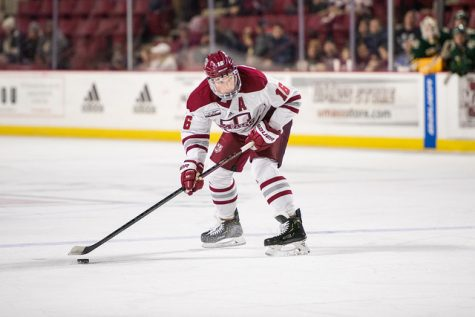 UMass hockey's Dominic Trento reflects on 'life-changing' bike ride