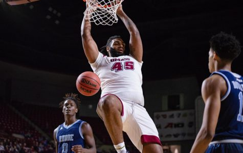 UMass men's basketball plays best game in a month in win over Rhode Island