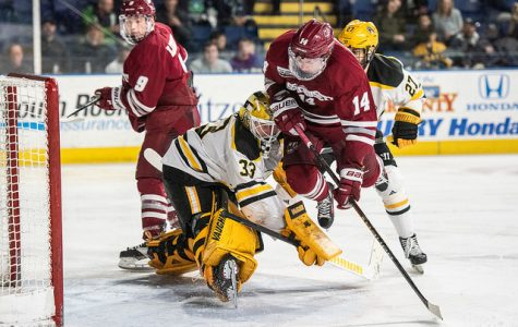 Ames: Second half of the season didn't start exactly as planned for UMass hockey
