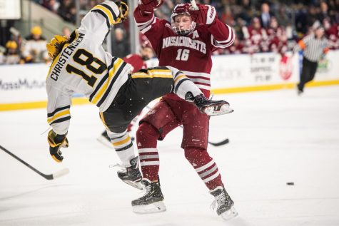 BC crushes Northeastern for fourth straight Beanpot title