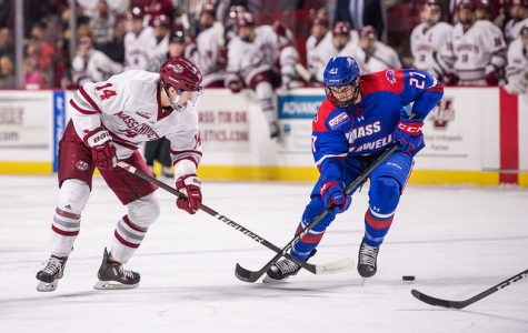 No. 2 UMass falls to UML in second half opener