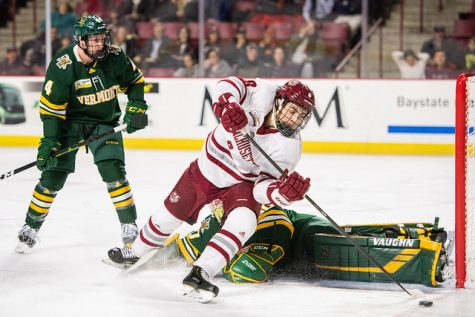 UMass hockey can't heed coach John Micheletto's warning in 6-3 loss against BU