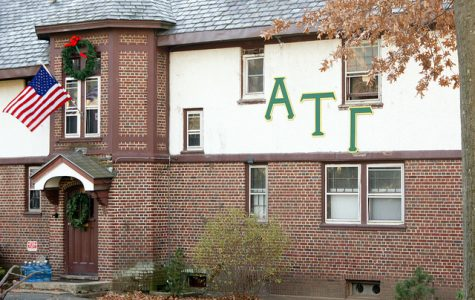 Fraternity president and other member arrested at large party early Sunday