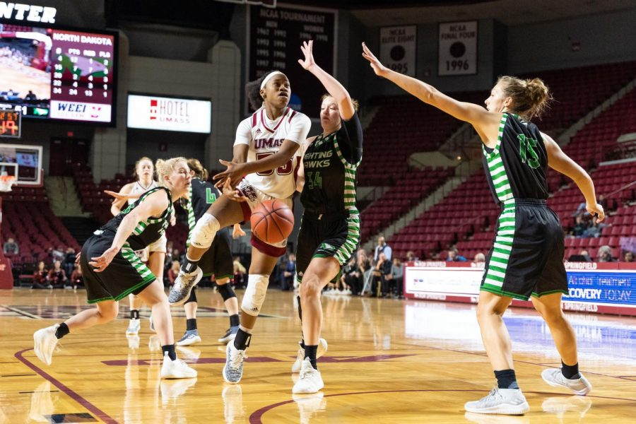 UMass women's hoops looks to build momentum against St. Bonaventure