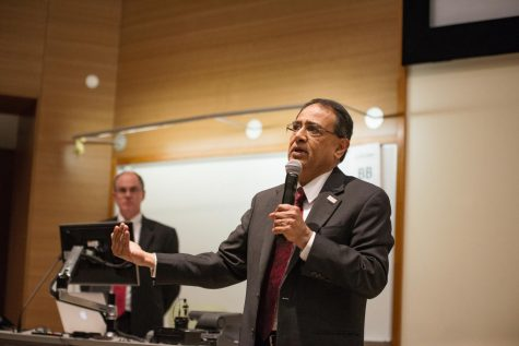 Mass. State Representatives speak at UMass Faculty Senate Meeting
