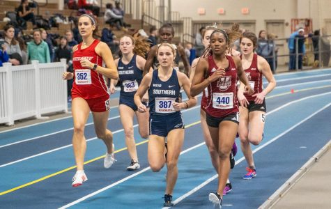 Jada Harris, Michael Cuthbert lead the way for UMass track and field in Valentine Invitational