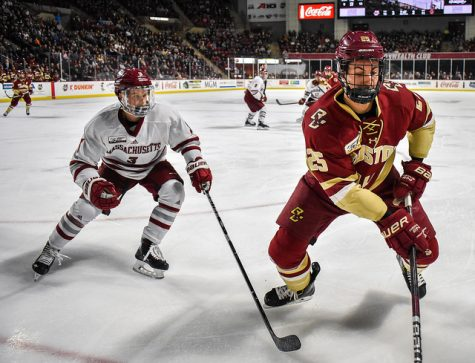 UMass hockey's frustration continues, falling to Northeastern 6-2