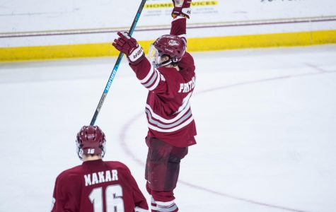No. 3 UMass sweeps Boston College with 4-2 win Saturday