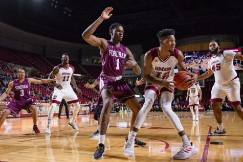 UMass falls one step short, suffers first home loss