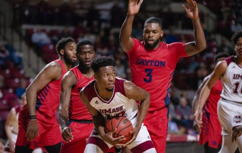 UMass men's basketball blown out by Dayton