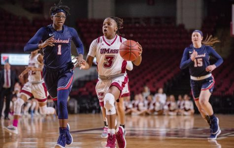 Bench unit the key to UMass women's basketball's win over Richmond