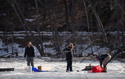 Young boy falls through ice at Puffer's Pond, rescued by bystanders