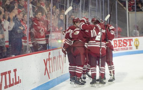 UMass soars past Boston University for 20th win