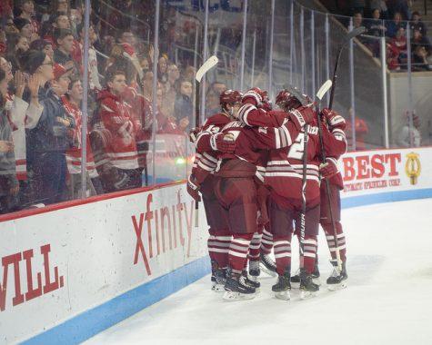 UMass soars past Boston University for 20th win
