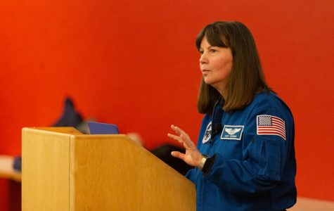 Astronaut and UMass graduate Cady Coleman speaks about life in space