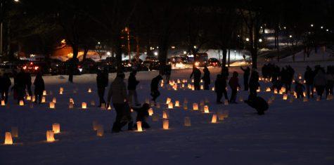 安城庆祝冬季盛会的第一天