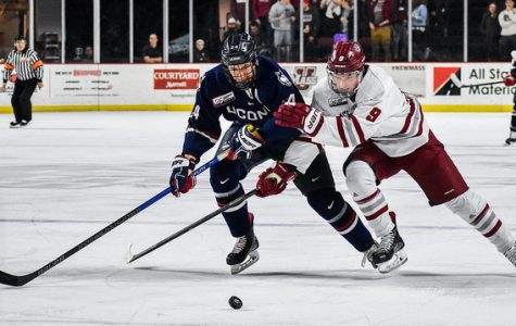 UMass beats UConn 3-0 for program-record 16th Hockey East win