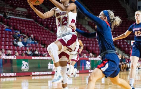 Late comeback falls short as UMass women's basketball falls 55-54 to Saint Joseph's