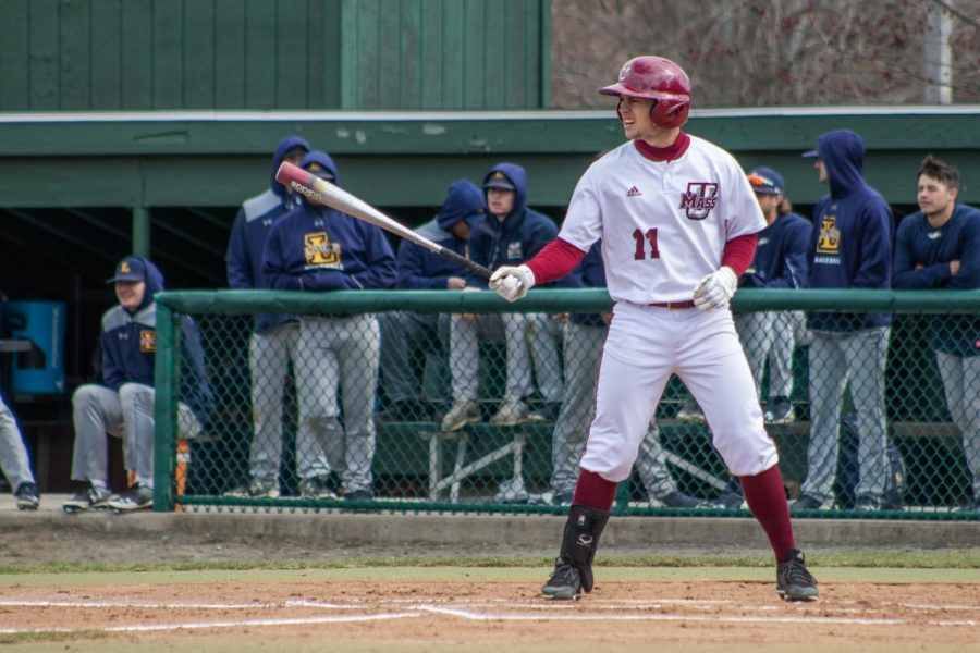 UMass+Baseball+heads+to+Central+Connecticut+State+for+opening+three+game+series