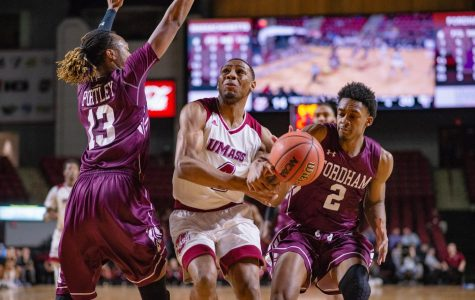 UMass men's basketball blown out at home against Fordham