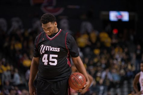 Harris leading UMass to tournament in rebuilding year