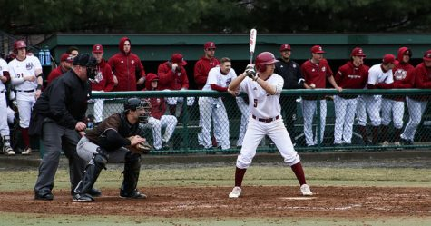 UMass avoids sweep on Conley's walk-off double