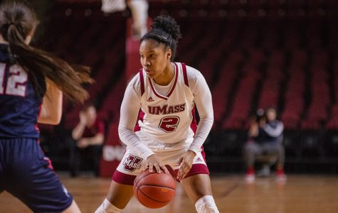 UMass women's basketball pulls out close win versus Rhode Island