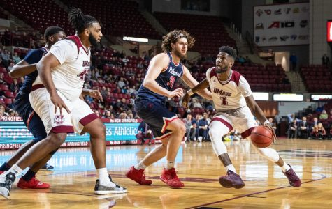 UMass rolls over Richmond in home finale