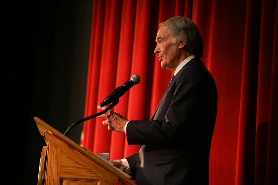 Sen. Markey and Rep. McGovern hold Green New Deal town hall