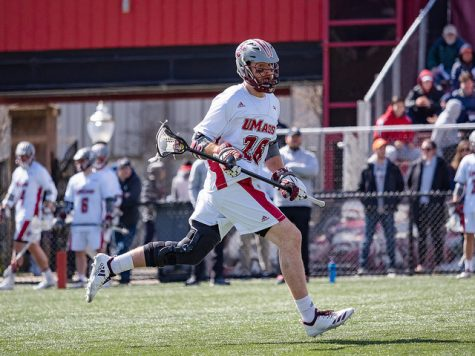 UMass men's lacrosse to honor seniors Friday against Drexel