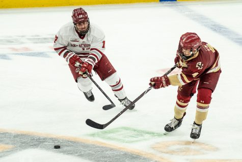 UMass club hockey triumphs in home opener