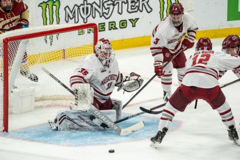 UMass hockey prepares for pair of weekend clash against pair of Hockey East opponents