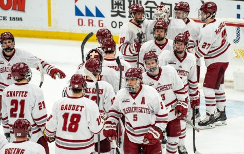UMass shifts focus to NCAAs, Harvard on Friday
